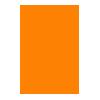 Pin Drop-orange